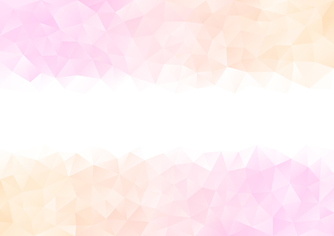 Pink and orange polygon background