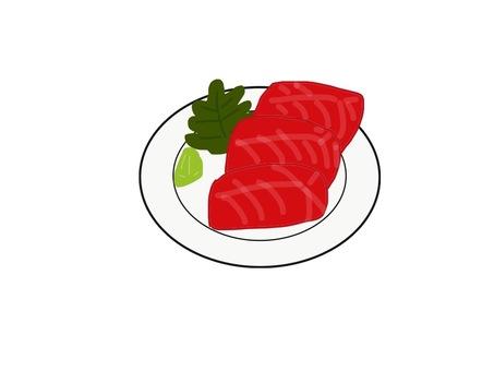 生魚片(金槍魚)