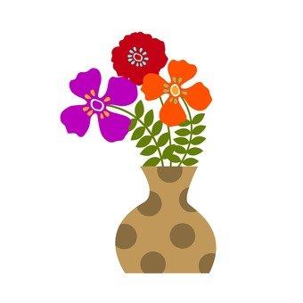 Flower in a vase 2