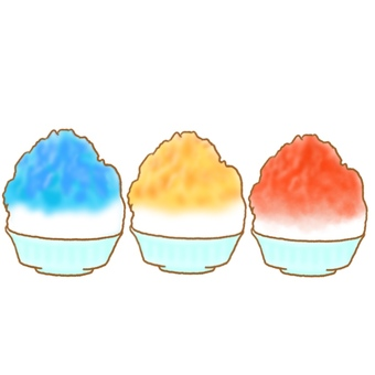 Shaved ice (3 colors)