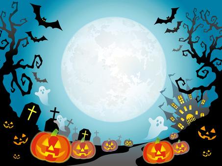 Seamless Halloween Background 3