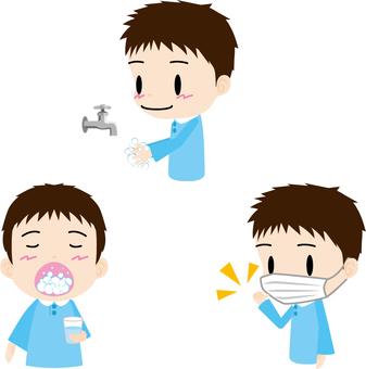 Hygiene management (boys)