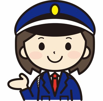 Female security guard to guide