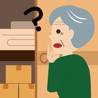 (Elderly Series) Forgetful