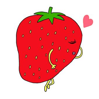 Sleeping strawberries