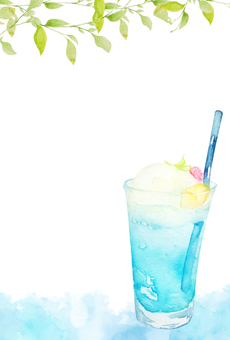POSCO] watercolor soda float's hot summer sunrise