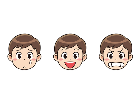 Boys face expression 3