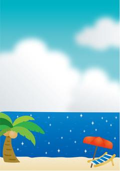 Summer sea image
