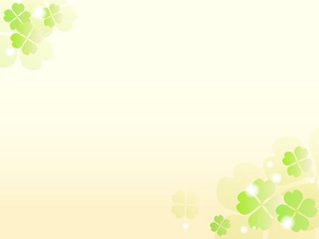 三葉草的裝飾框架2