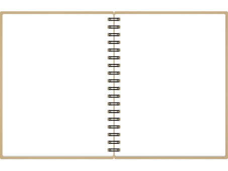 Open memo pad (no ruled line)