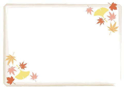 Autumn leaves, Ginkgo autumn background 2