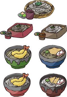 烏冬面和蕎麥麵總結