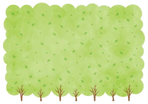 Background _ Green tree