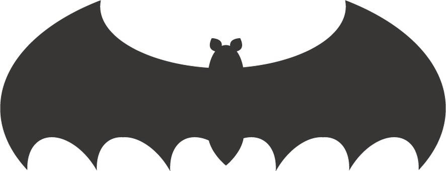 박쥐 아이콘 일러스트