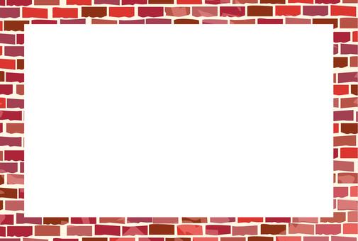 Brick Frame _ Red