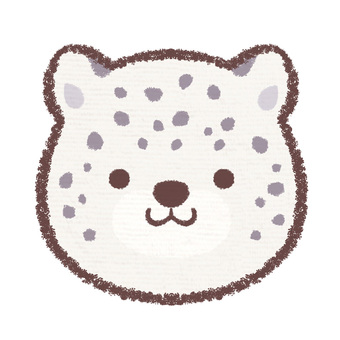 Icon snow leopard