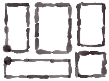 Ink Material 24 Frame Set