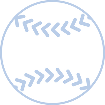 Simple baseball ball soft type