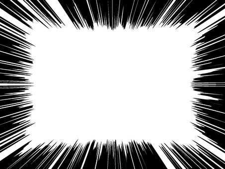 Comic wind 06 white through PNG