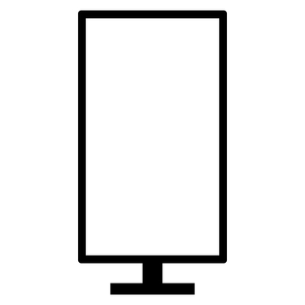 Simple monitor · Vertical position · Screen transparency