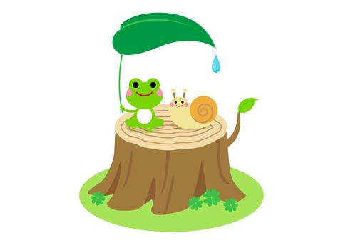 Rainy season image material 140