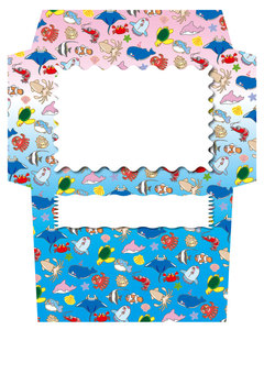 A collection of cute sea creatures! Envelope 08