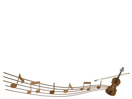 바이올린의 테두리