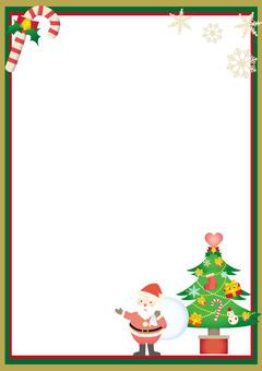 A4 크리스마스 색칠 공부 여자 무료 클립 아트 Illustac