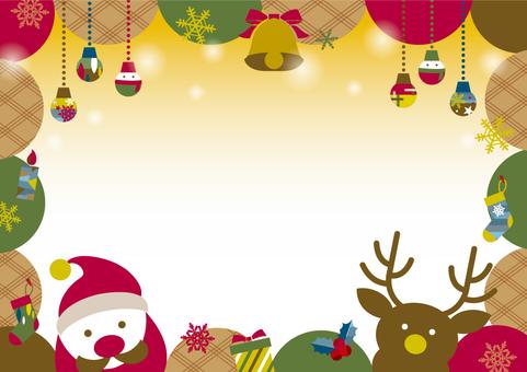 POPなクリスマスフレーム_A