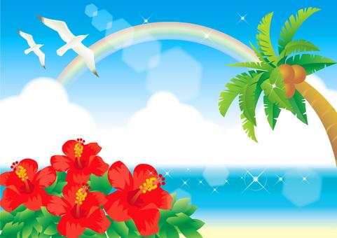 Summer sea frame 5