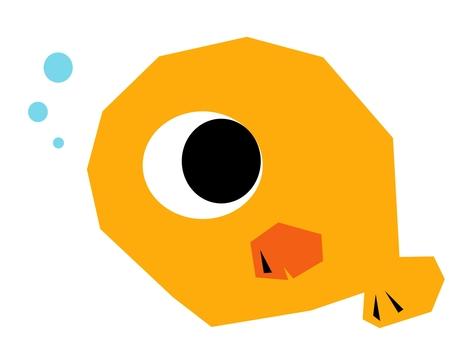 물고기 오렌지 -1