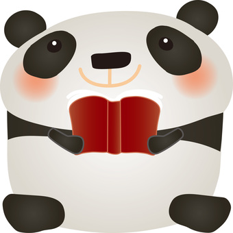 Panda and Books