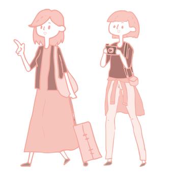 Women travel tourism 2