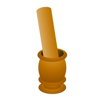 African tools Pestle