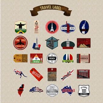 旅行標籤包