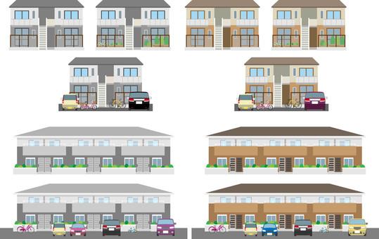 Apartment summary set