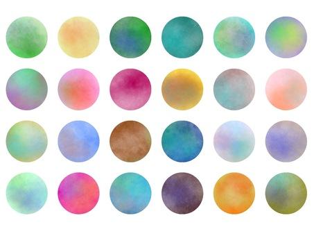 Circle colorful