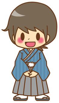 Boys * New Year's kimono