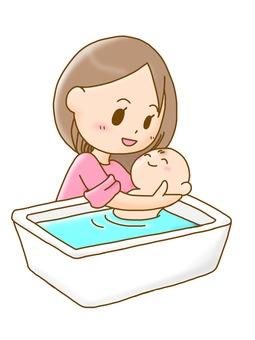 Baby's bathing