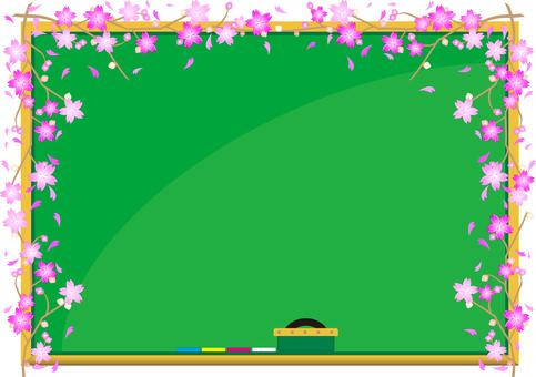 Blackboard Sakura 03