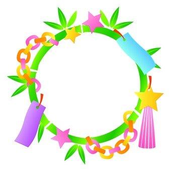 Tanabata decoration ring