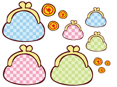 Purses and coins