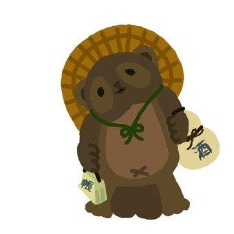 浣熊的飾品