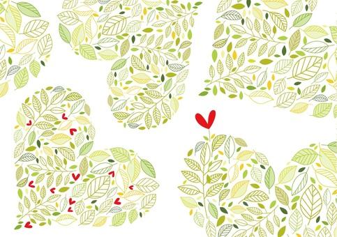 Leaf 16 Heart
