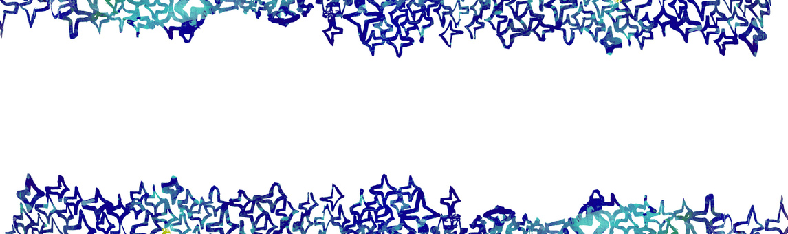 Blue frame frame