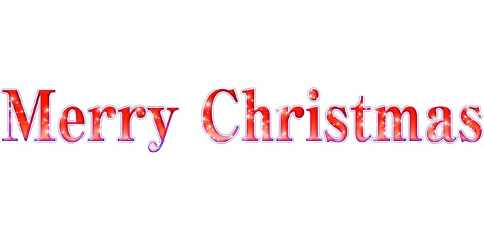 Merry Christmas logo _ red