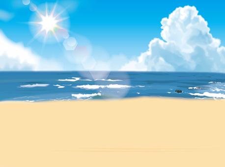 Sea, cloud wallpaper
