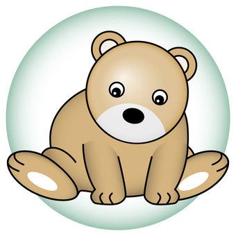 Illustration of a bear