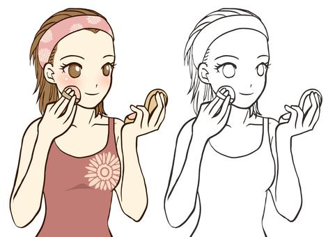 Makeup (puff)