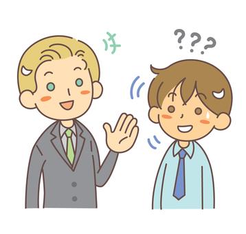 Conversation Foreign men and Japanese men 5